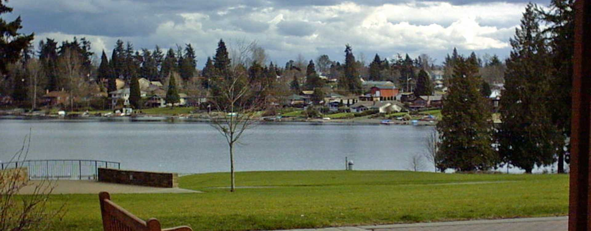 Bench and Lake