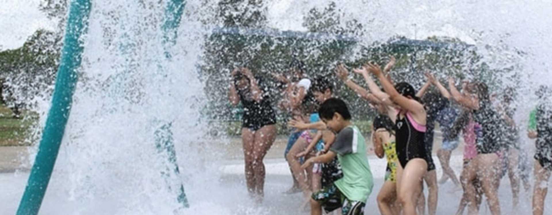 Spray Park at Angle Lake