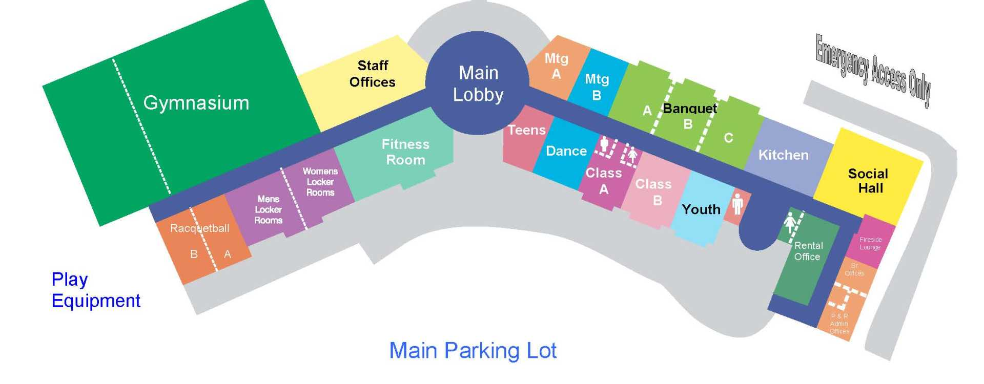 Meeting & Event Space Diagram