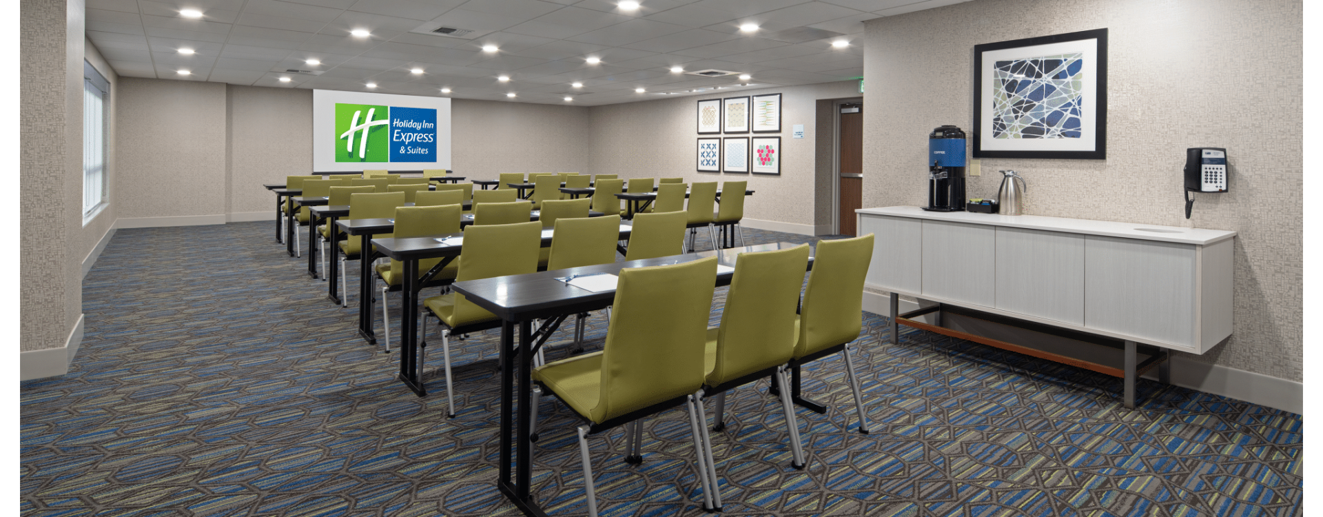 Holiday Inn Express Suites Seattle Sea-Tac Airport Evergreen Meeting Space