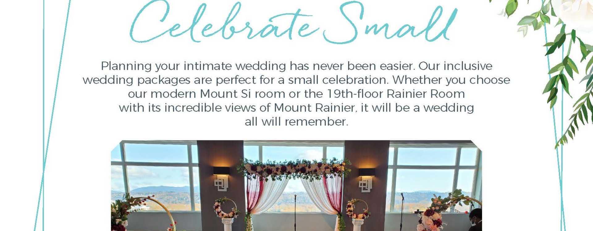 Hotel Interurban Celebrate Small Something Simple Wedding