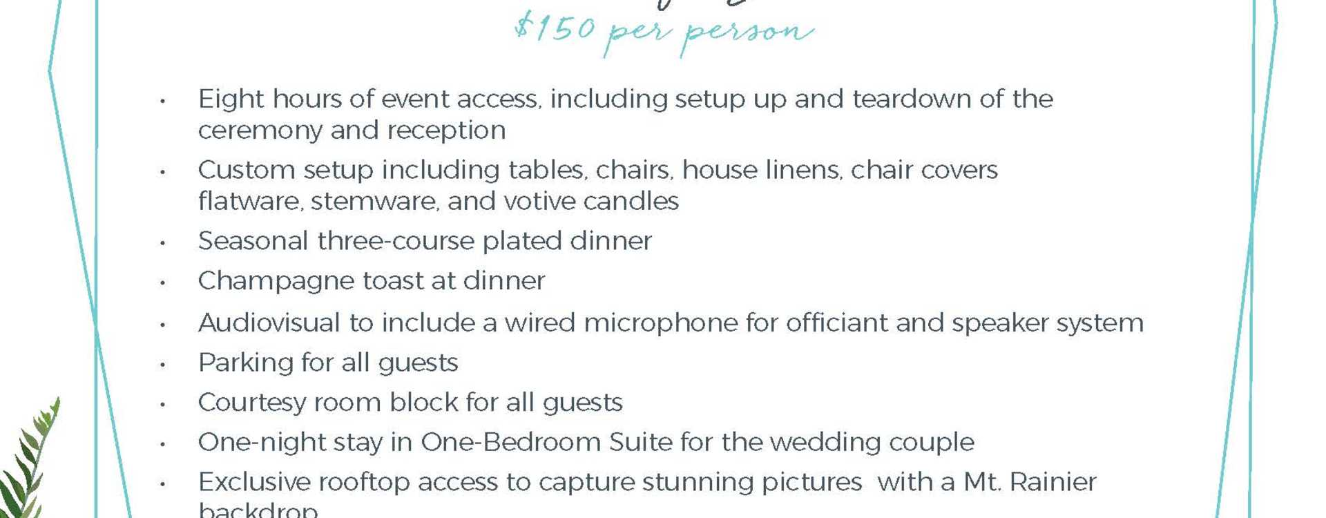 Hotel Interurban Celebrate Small Something Grand Wedding