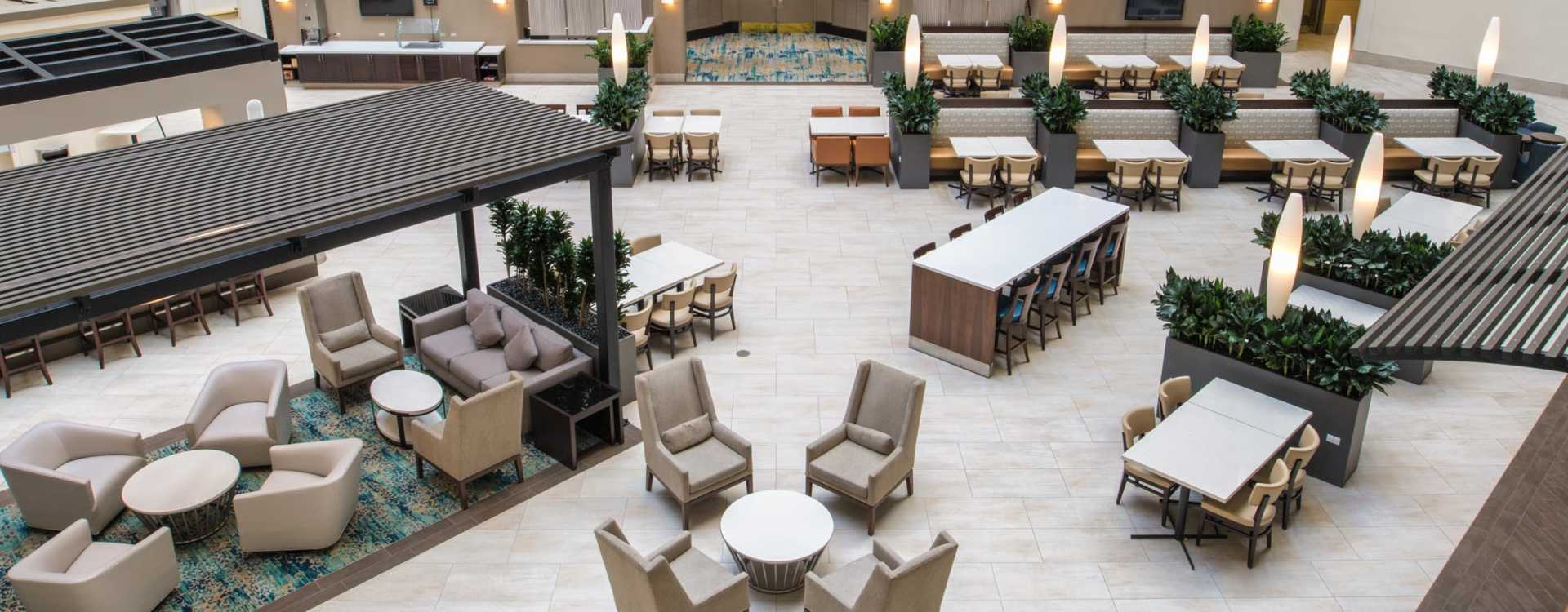 Newly renovated Atrium
