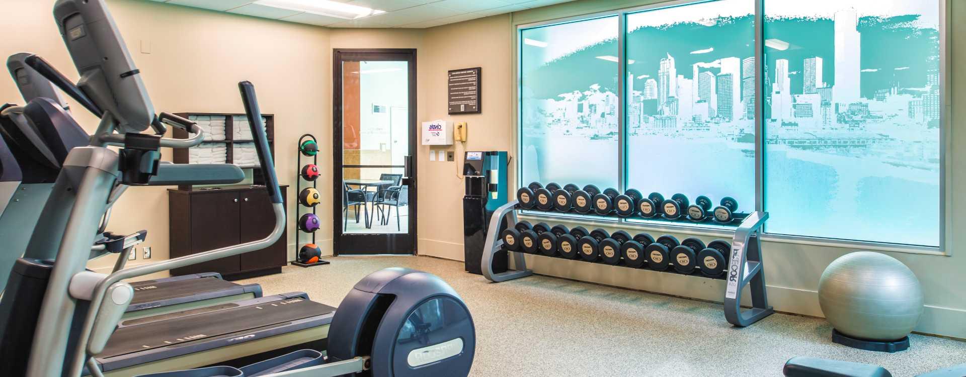 Fitness Center 24 hours