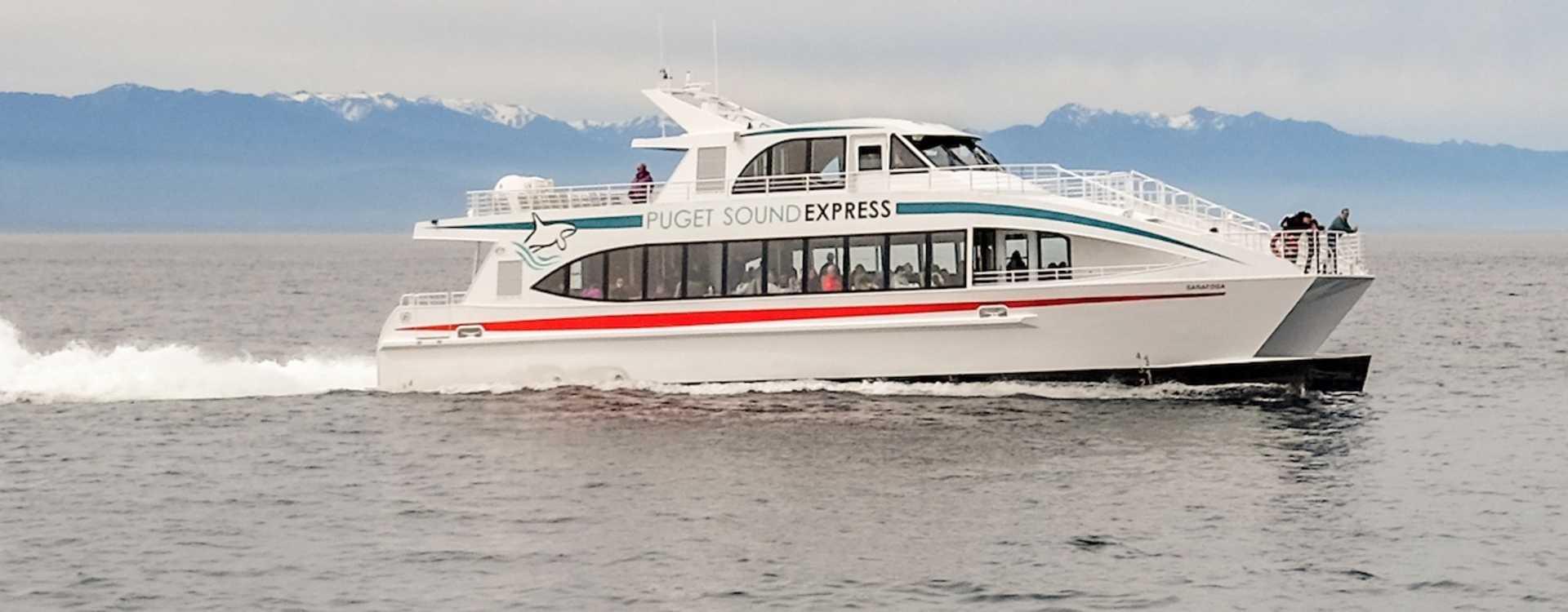 Our newest vessel: MV Saratoga