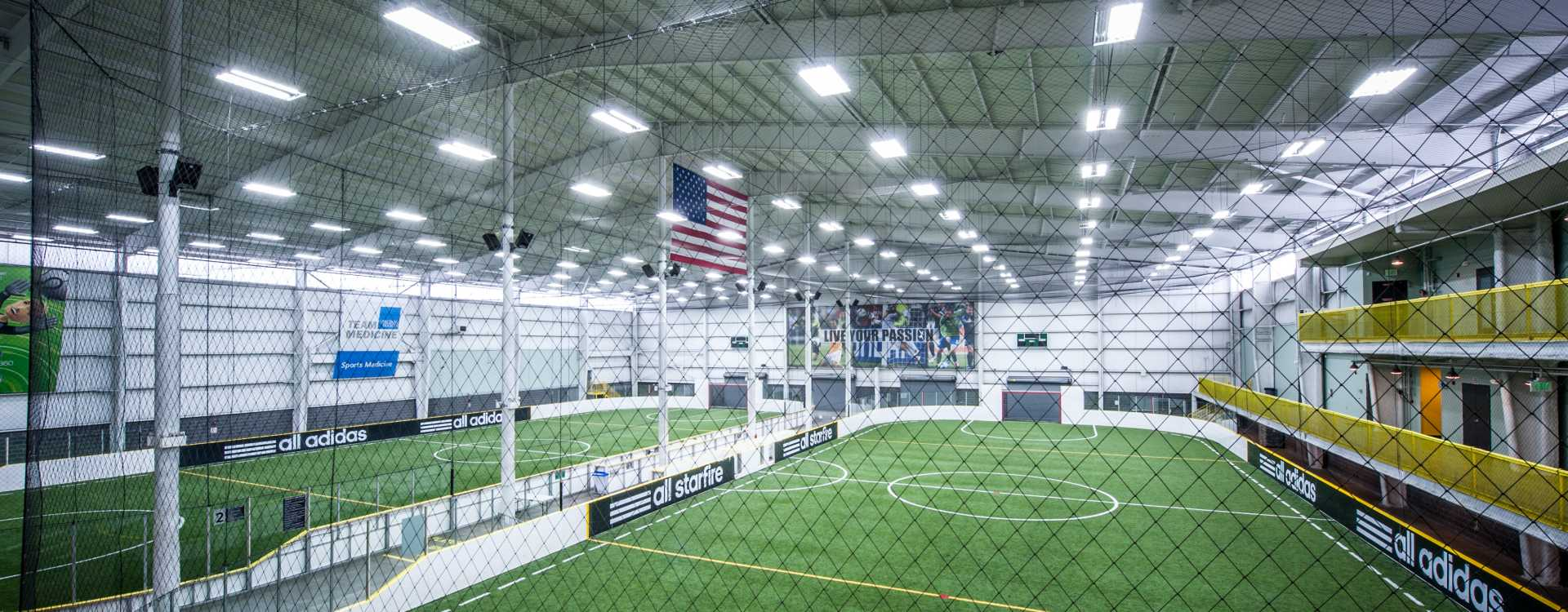 Athletic Center - Inside