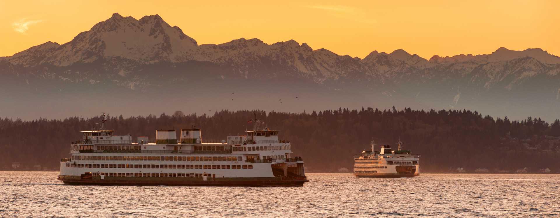 Washington State Ferries in Puget Sound