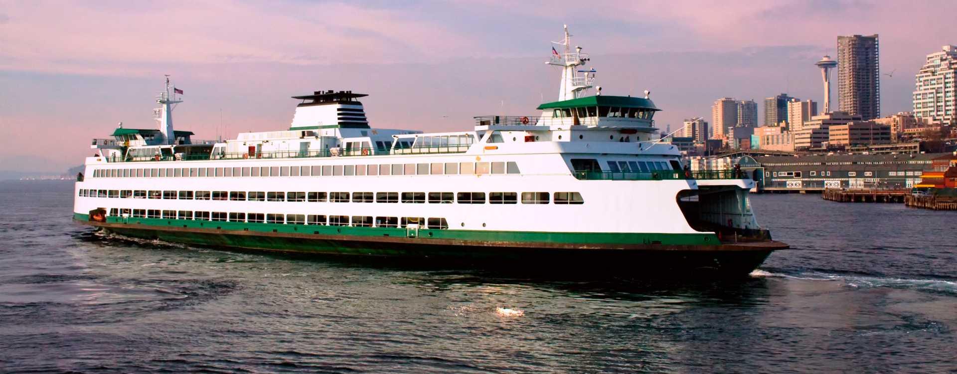 Washington State Ferry in Seattle