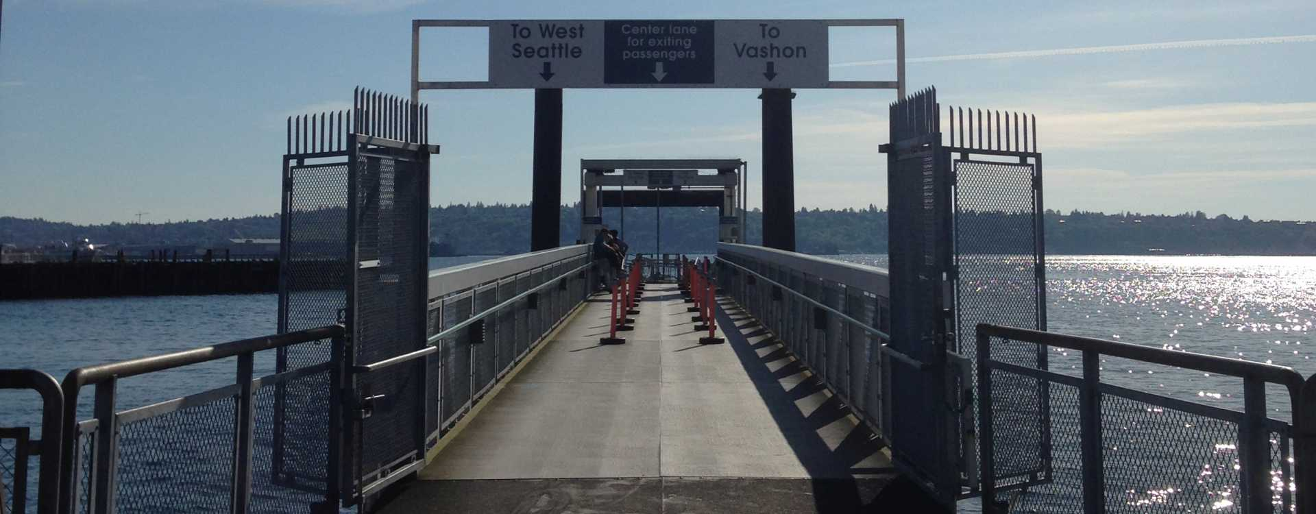 King County Water Taxi - Vashon Island