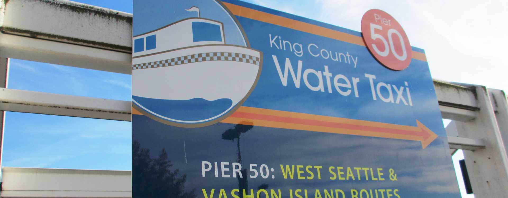 King County Water Taxi - West Seattle