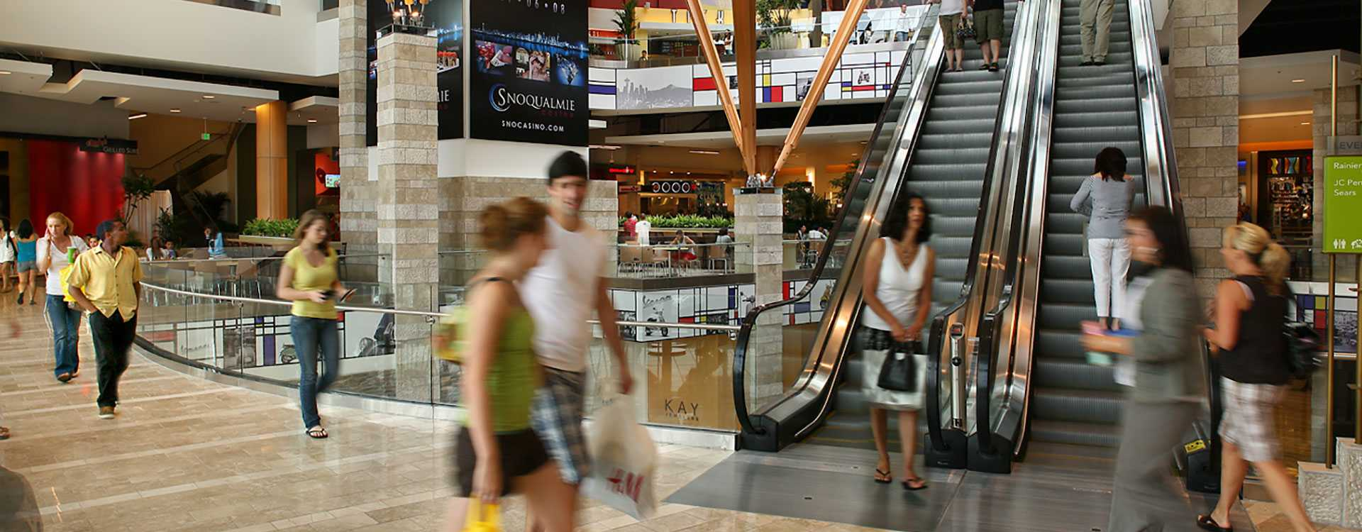 Westfield Southcenter Mall in Tukwila Washington