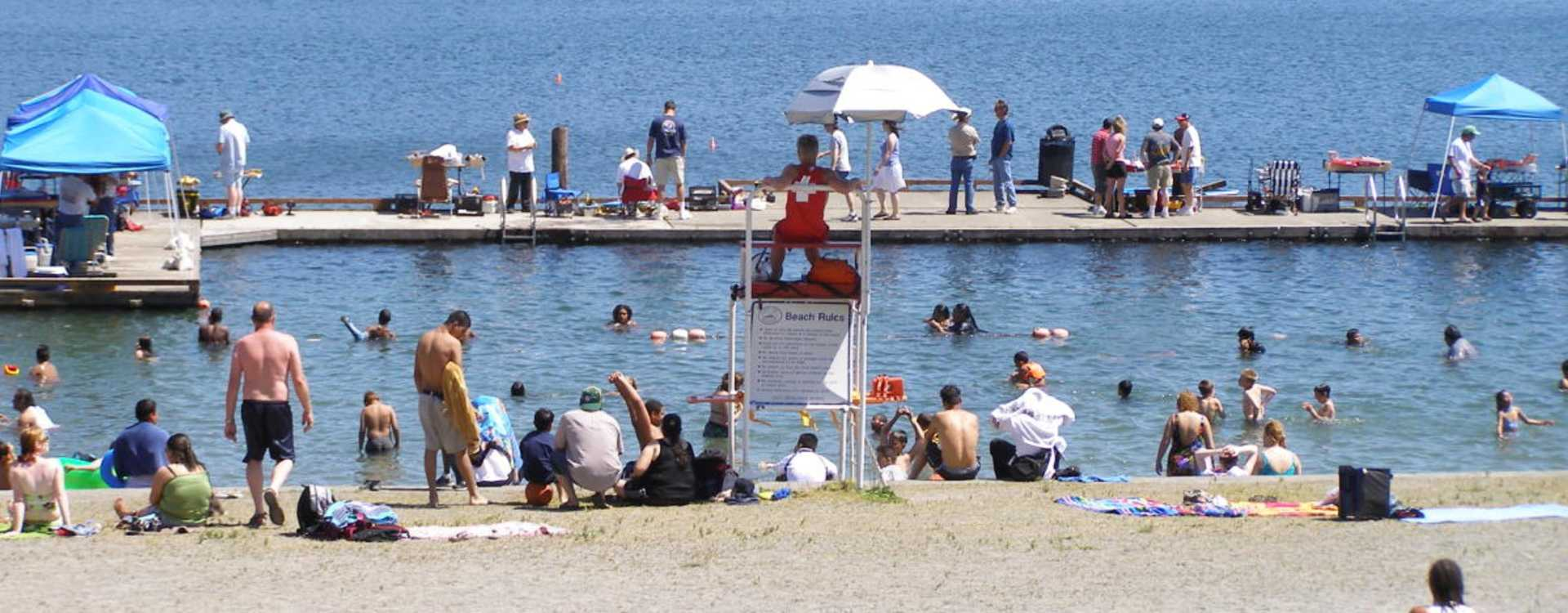 Angle Lake Beach