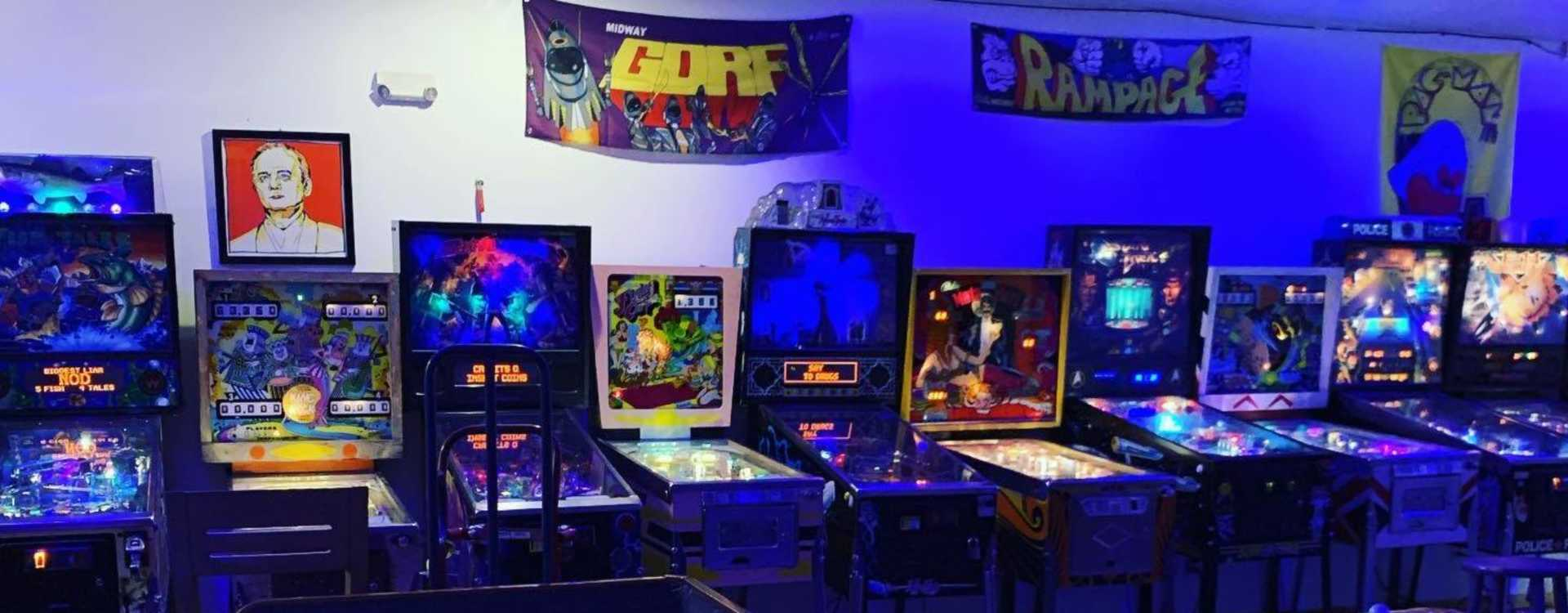 Waterland Arcade Pinball Machines