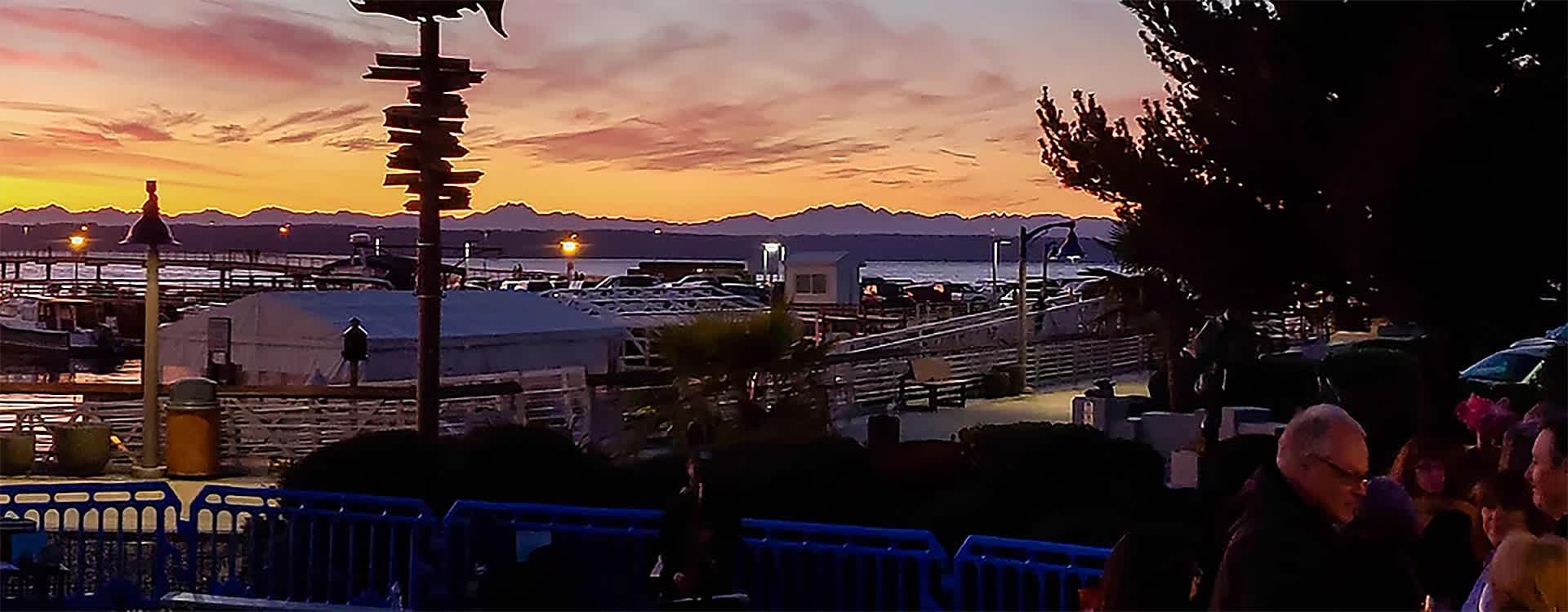 QuarterDeck Outside at Sunset