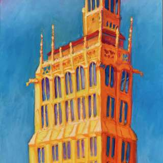 """Asheville Gallery of Art May Show, """"Seeing in Color: Life on the Bright Side"""" / Thurs. - Monday 11am to 6pm"""