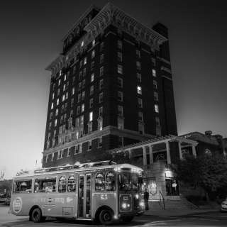 Haunted History and Murder Mystery Trolley Ghost Tour