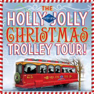 The Holly Jolly Christmas Trolley Tour