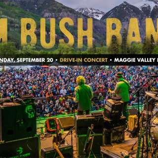 SAM BUSH BAND: DRIVE-IN CONCERT AT MAGGIE VALLEY FAIRGROUNDS
