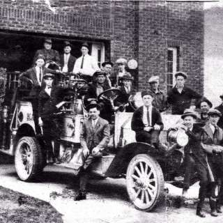 VIRTUAL: WNC History Café: 100 Years of the Black Mountain Firehouse