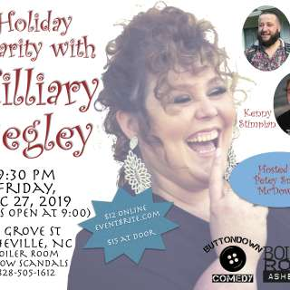 ButtonDown Comedy's Post Christmas Holiday Comedy show with Hilliary Begley at the Boiler Room