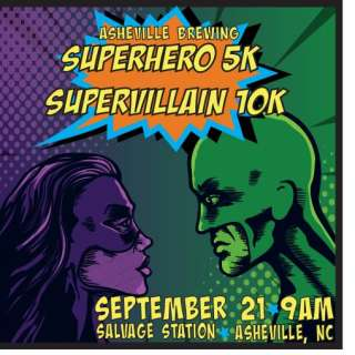 Super Hero 5K/Super Villain 10K