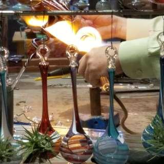 Live Glassblowing by Jason Probstein