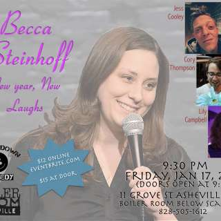 New Year, New Laughs with Becca Steinhoff