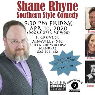 CANCELLED: Southern Style Comedy with Shane Rhyne
