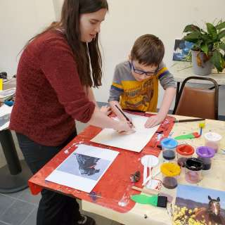 CANCELLED: Spring Break Art Classes with Julie Dugger