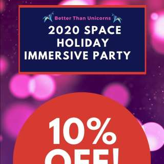 2020 Space Holiday Immersive Party! (1Hour)