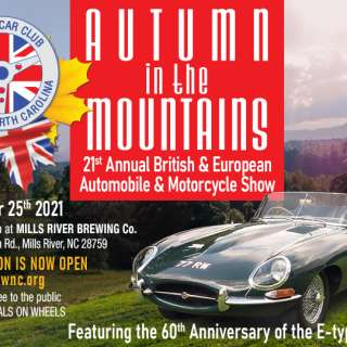 Autumn in the Mountains 21st Annual British Car Show