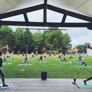 Hip Hop Fitness in the Meadow