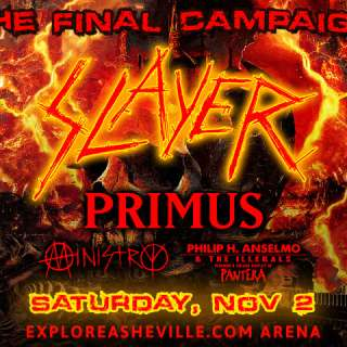 The Final Campaign: Slayer, Primus, Ministry, Philip H Anselmo and the Illegals performing a vulgar display of Pantera