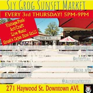 Sly Grog Sunset Market