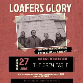 Loafers' Glory Reunion Show w/ Quarter to Nine, Arnold Hill