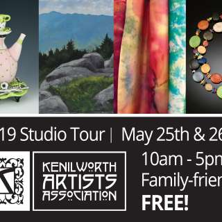 2019 Kenilworth Artists Association Tour