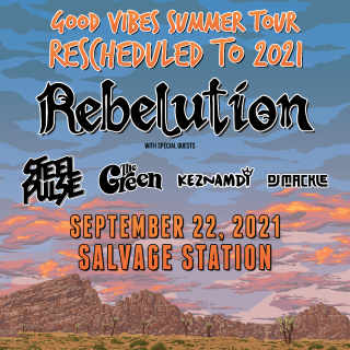 Good Vibes Summer Tour 2021: Rebelution + Special Guests