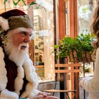Santa Clause Visits Mountain Made (in Grove Arcade)