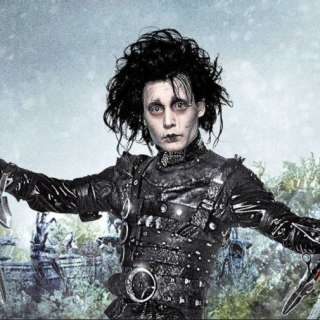 Edward Scissorhands - Outdoor Movie