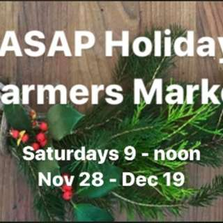 The ASAP Holiday Farmers Market