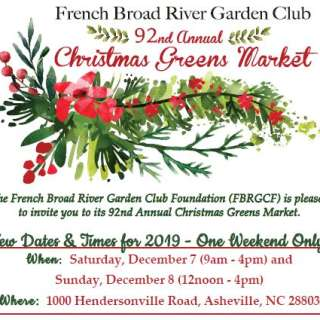 92nd Annual Christmas Greens Market