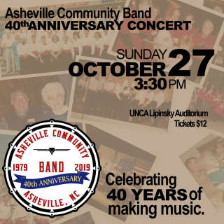 Asheville Community Band 40th Anniversary Concert