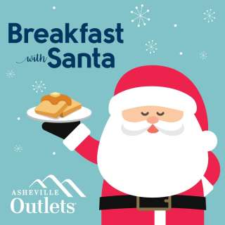 Asheville Outlets Presents Breakfast With Santa