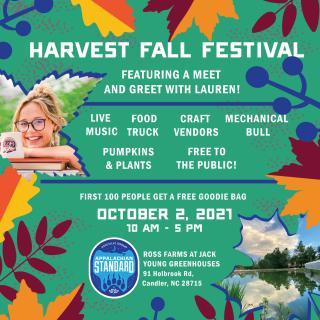 Ross Farm and Appalachian Standard's Harvest Fall Festival