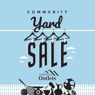 Community Yard Sale at Asheville Outlets