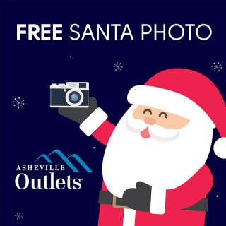 Ho Ho Ho! FREE Santa Photo Experience at Asheville Outlets