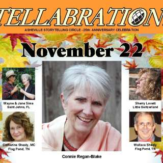 VIRTUAL:  Tellabration! Featuring Connie Regan-Blake