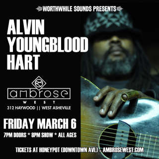 Worthwhile Sounds presents Alvin Youngblood Hart