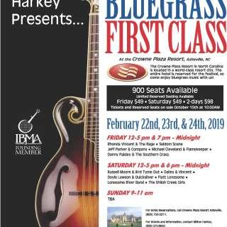 24th Annual Bluegrass First Class