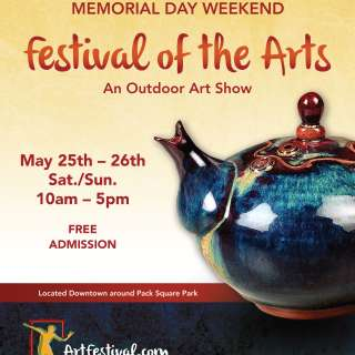 The Downtown Asheville Memorial Day Weekend Festival of the Arts